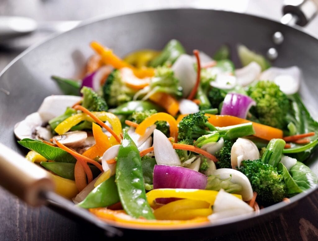 Picture of a healthy salad
